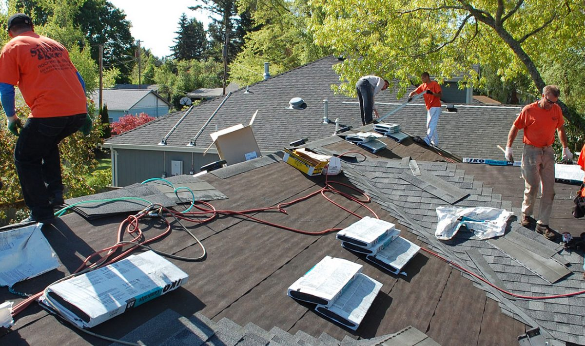 Roofing service near me