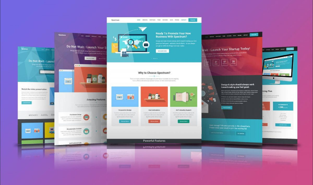media-landing-pages